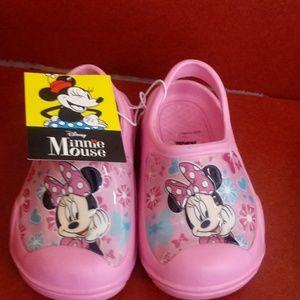 Cute Disney Minnie Mouse Clogs 7/8